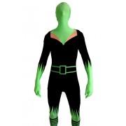 Costume de sorcière verte