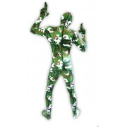 Militaire camouflage vert
