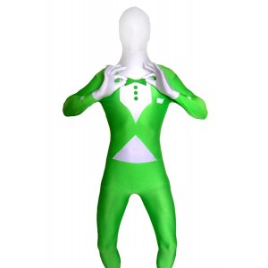 Green Tuxedo - Glows in the Dark Flexsuit